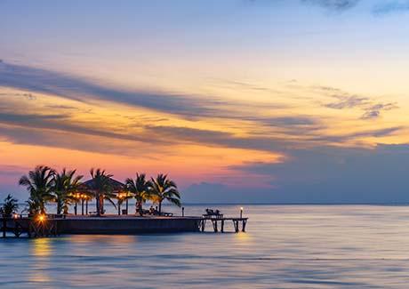 ★重庆到马尔代夫旅游,【太阳岛】七日游,五星岛屿太阳岛,2晚沙滩房+2晚水上屋住宿!