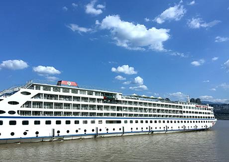 ☎重庆三峡旅游,[银河一号]重庆长江三峡游船单程3日旅游