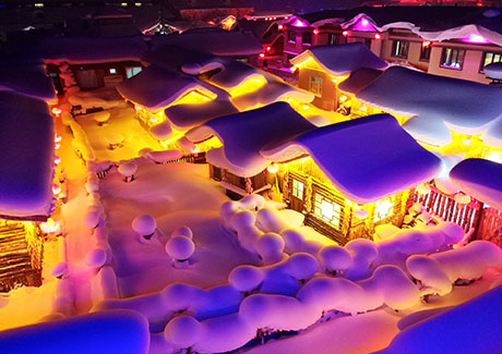 ★重庆东北旅游,[东北全景]哈尔滨+亚布力+雪乡+长白山天池+漠河北极村9日旅游