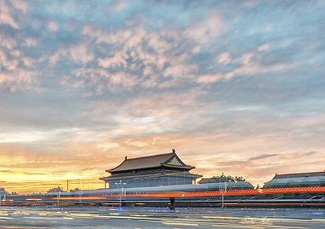 ☎重庆到北京旅游,北京+天津+石家庄深度双飞5日游<0自费>【一品紫禁城】