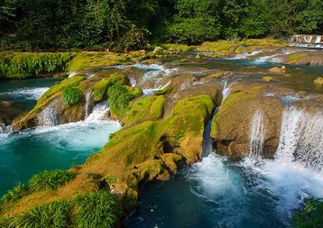 ☎重庆到贵州旅游,贵州习水土城、赤水钻石奇观兰花园、赤水大瀑布二日旅游报价