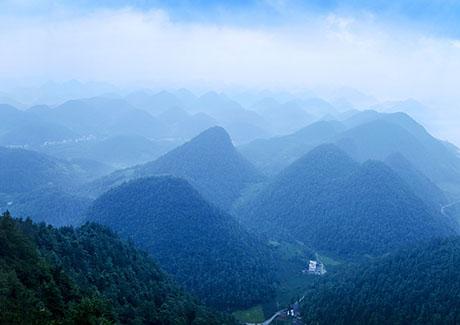 ☎重庆周边游,自驾到云阳龙岗神农架大九湖4天旅游