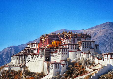 ☀重庆到西藏旅游,拉萨+林芝桃花沟单卧单飞8天旅游【桃花节】
