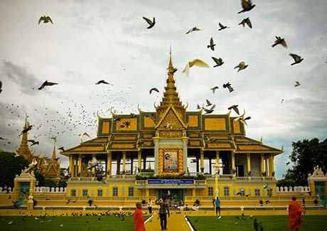 ★重庆到柬埔寨旅游,柬埔寨吴哥+金边6/7天特价跟团旅游