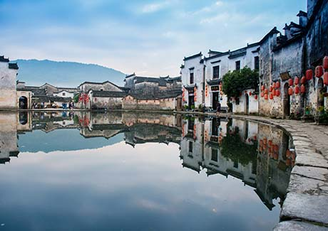 @重庆出发,梦幻黄山、古黟西递、画里宏村、宋街双飞四日游