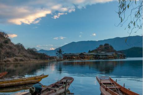 @重庆到泸沽湖旅游,重庆到泸沽湖+丽江双飞5/6天高端旅游团[摩梭红]