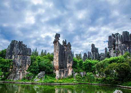 ☂重庆到昆明旅游,畅享雨林 * 云南昆明+西双版纳双飞6日热带风情游