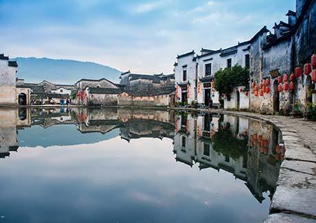 ♬重庆出发,【世界遗产游】重庆到黄山、西递、宏村、宋街、合肥双飞5日旅游(冬季热销路线)